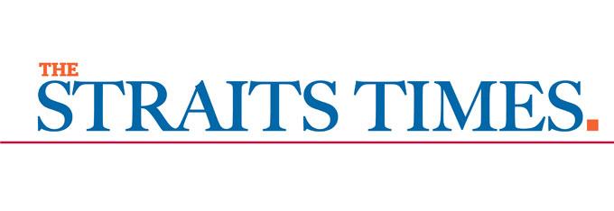 straits times s'pore logo