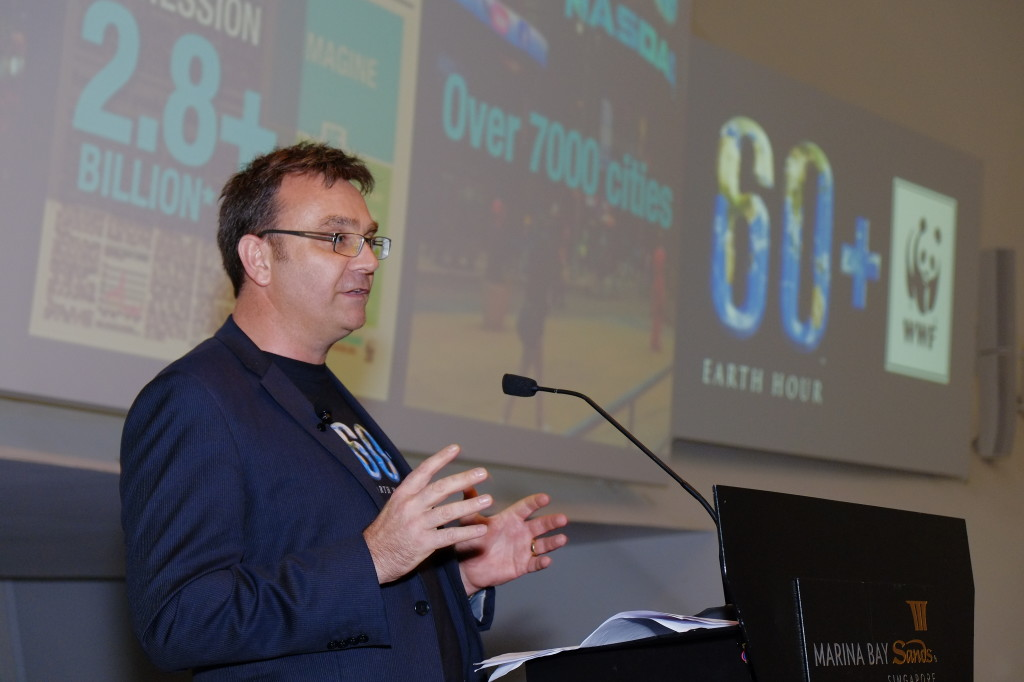 Andy Ridley, CEO and Co-Founder of Earth Hour (Photo Credit - WilzWorkz Photography)