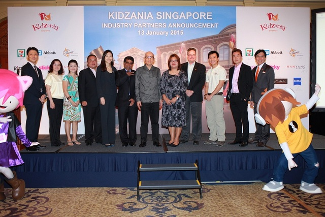 KidZania Sg - Group Photo