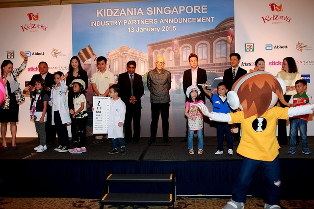 KidZania Sg - Industry partners and children