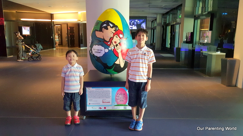 The Great Egg-Venture at Sentosa HarbourFront 2016 12