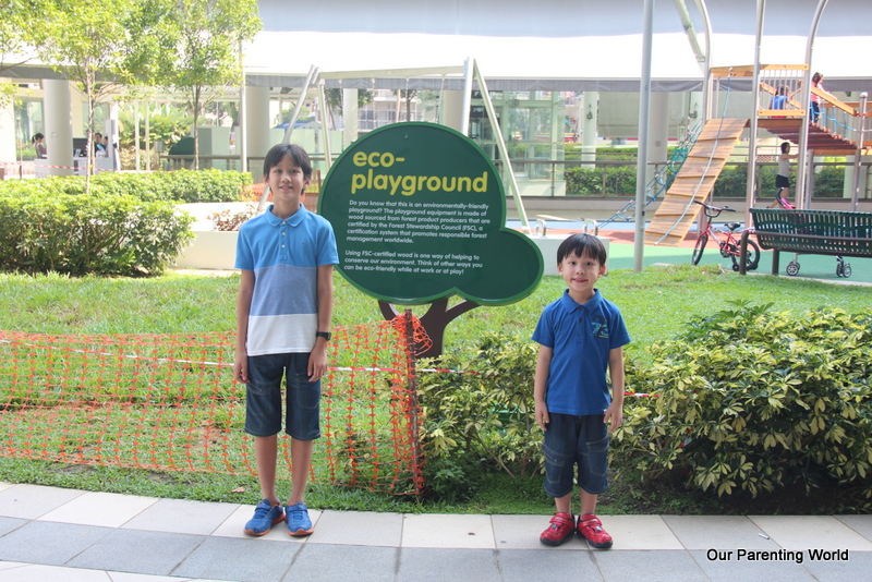 Edu-tainment Trail at City Square Mall