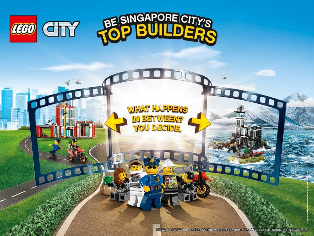 "LEGO® City ""Be Singapore City's Top Builders"" Competition"