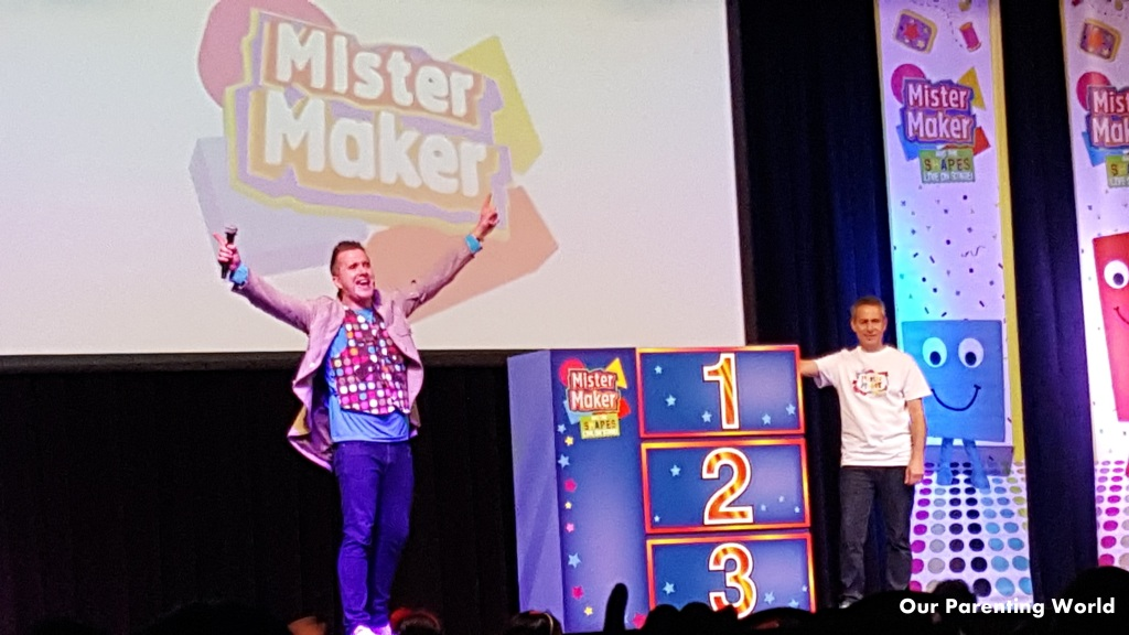 Mister Maker and The Shapes LIVE on stage 5