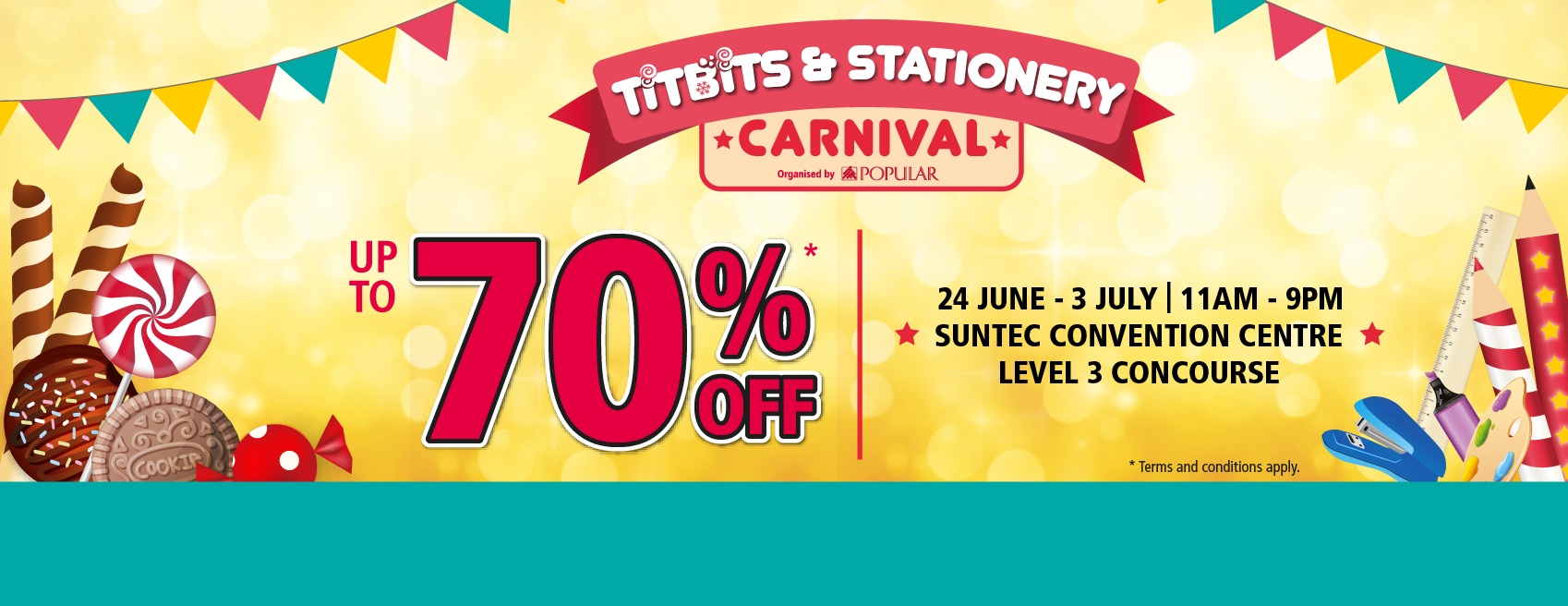 POPULAR Titbits & Stationery Carnival 2016