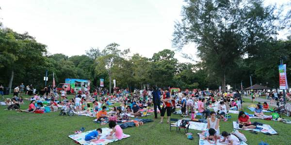 The Families for Life School Holiday Edition picnic