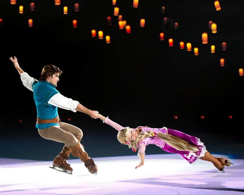 Disney on Ice Rapunzal Flynn