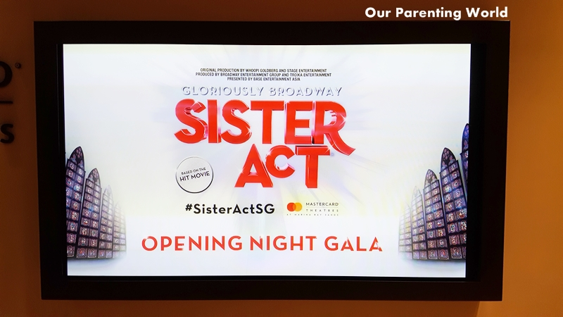 Sister Act Opening Night Gala Singapore