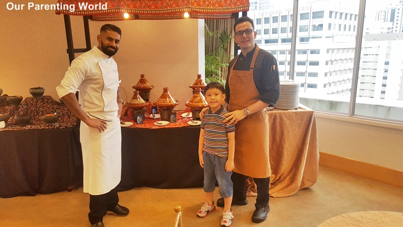 Hilton Singapore Ramadhan Pop-up Buffet Executive chef Vijayakant and team