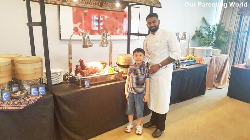 Hilton Singapore Ramadhan Pop-up Buffet Executive chef Vijayakant