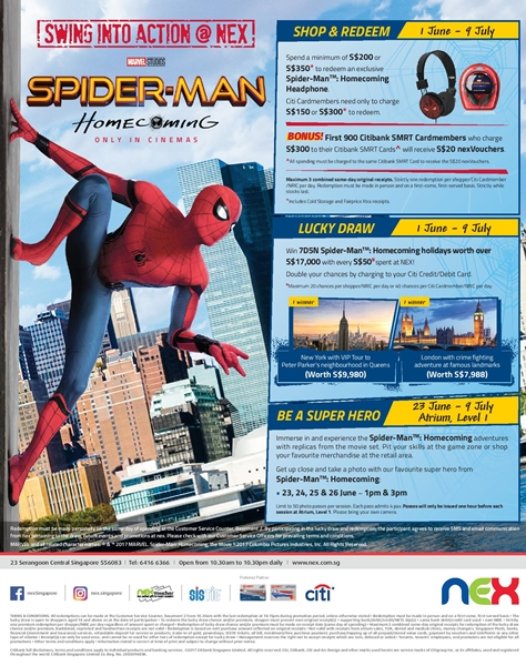 Spider-Man Homecoming NEX