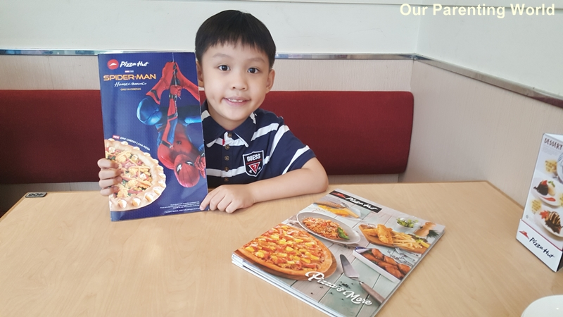 Spider Man Nex Pizza Hut