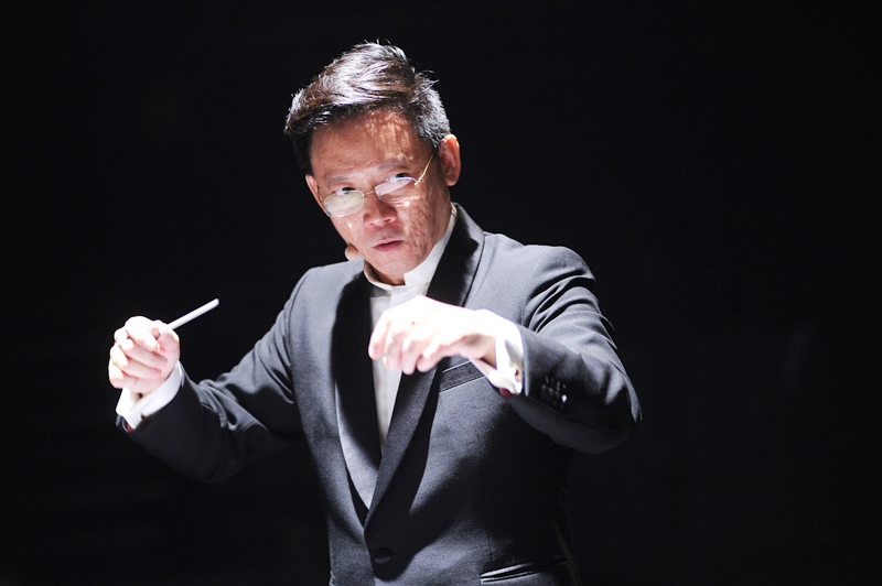 Mr Quek Ling Kiong Principal Guest Conductor for Ding Yi