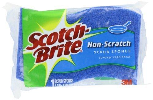 3M Scotch Brite Non Scratch Scrub Sponge