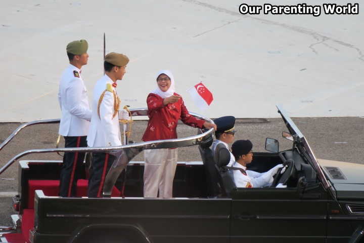 National Day Parade 2017 Speaker of Parliament Halimah Yacob