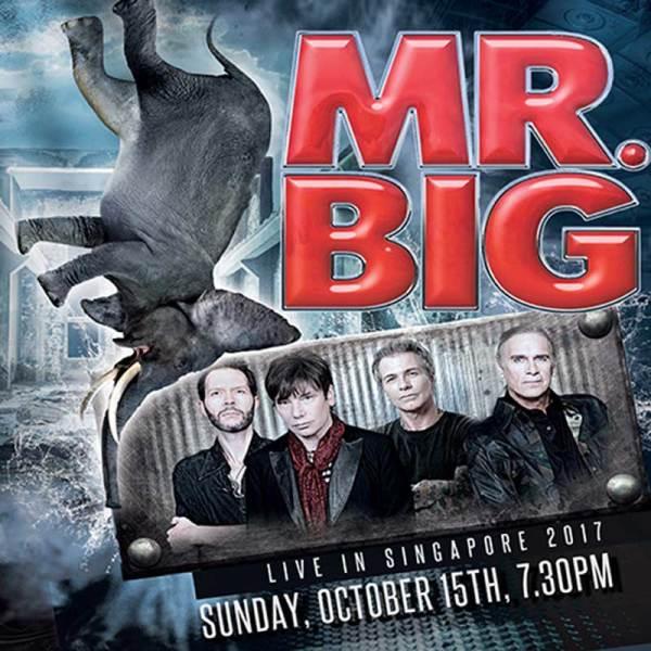 Mr BIG live in Singapore