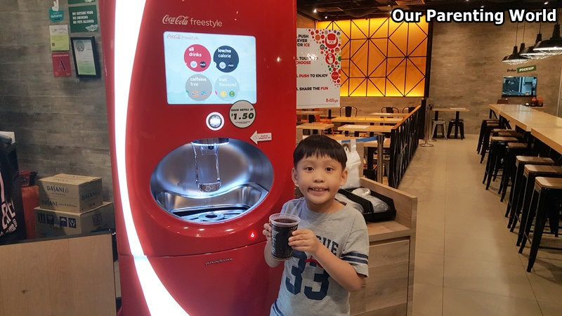 Wingstop Coca-Cola freestyle machine