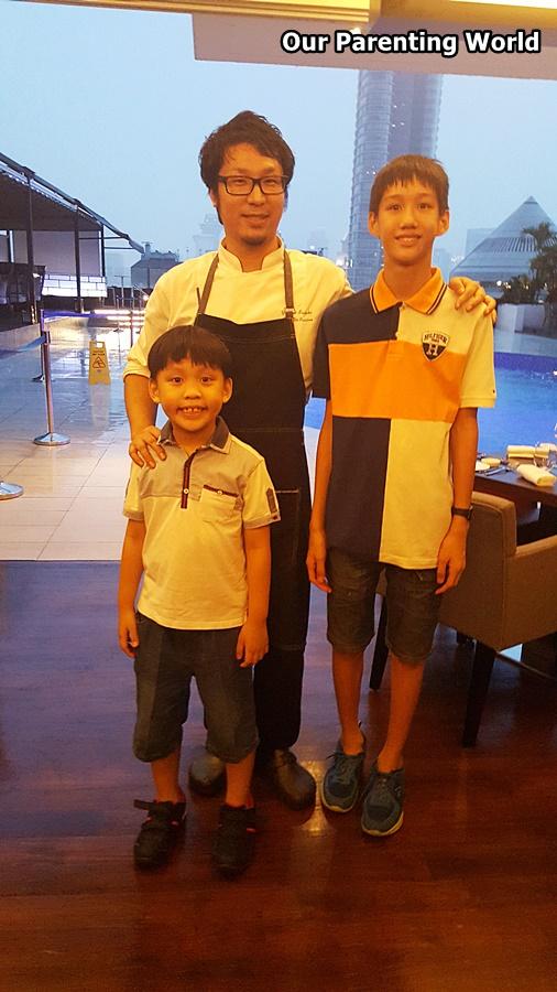il Cielo Chef Yohhei Sasaki
