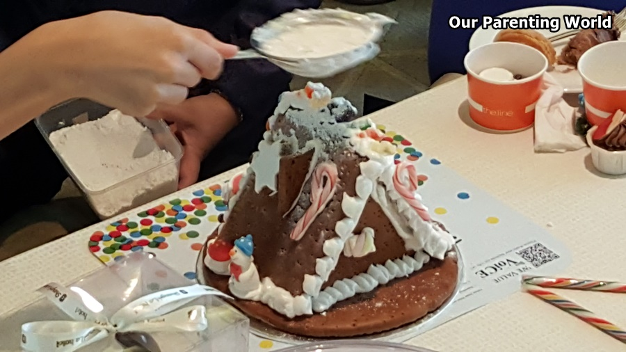 Shangri La Gingerbread House Workshop 12