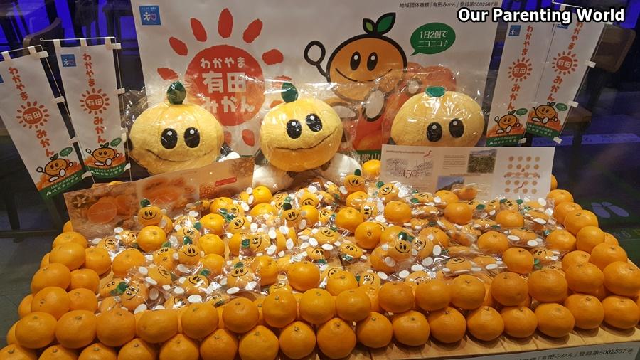 JETRO Presents Arida Mikan Oranges