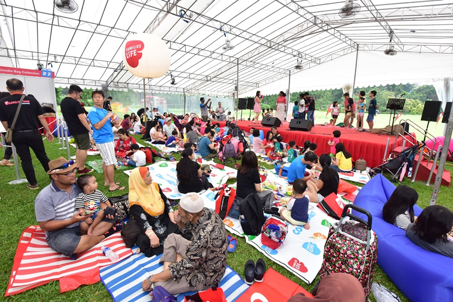 Families for Life Picnic at Istana 2