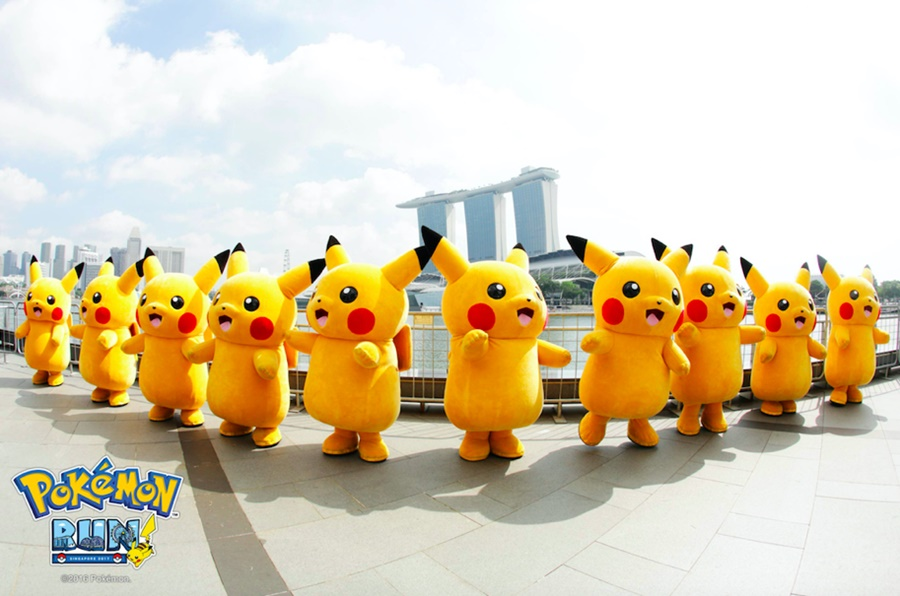 Pokemon Run Carnival 2018 Singapore