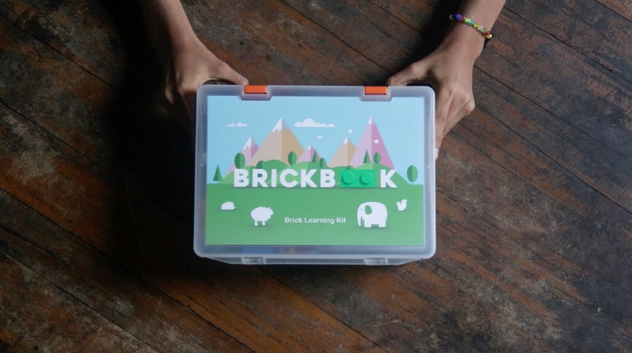 The Little Village Brick Book Learning Kit