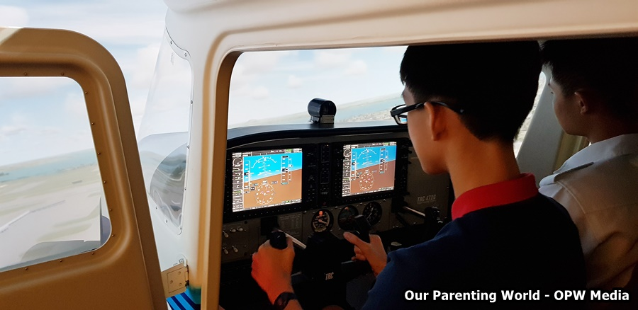 Boost your child's confidence with SG Aviation Training's flight lessons