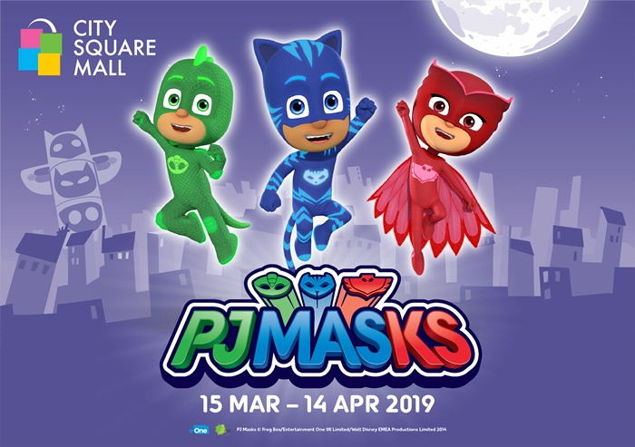 You Can Be A Hero With Pj Masks This March School Holidays At City Square Mall