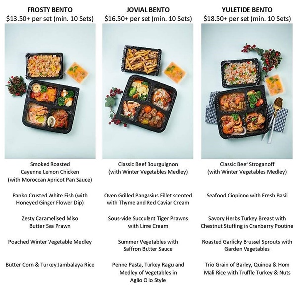 Enjoy New Dishes from Stamford Catering's Christmas 2020 Edition, Our Parenting World
