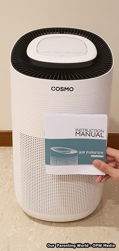 Cosmo Prime® Air Purifier + 3-in-1 HEPA filter – Providing Superior Air Quality For Your Home, Our Parenting World