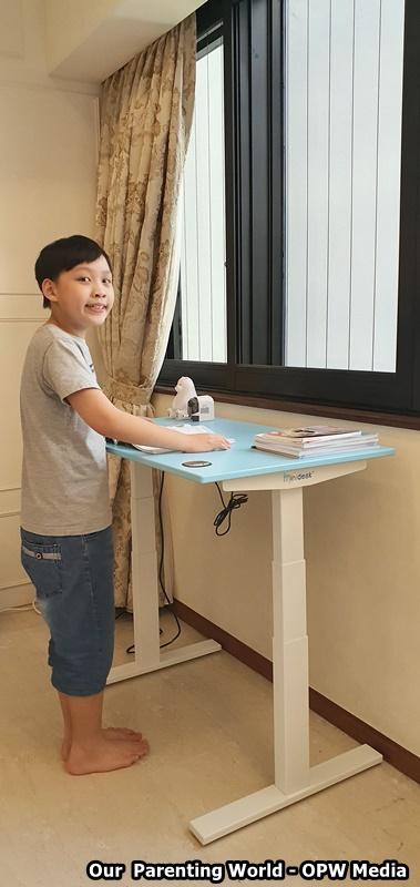 Omnidesk Launches Minidesk, Height-Adjustable Desk for Kids, Our Parenting World