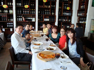 Lunch with daddy's colleagues, Our Parenting World