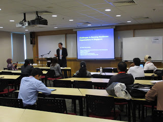 {Government Invite] – Healthcare system talk for senior officials invited by MFA and NTU, Our Parenting World