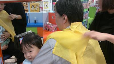 Di Di's haircut, Our Parenting World