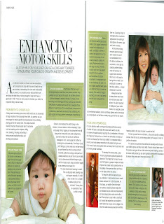 Mummy's feature in Today's Parents, Our Parenting World