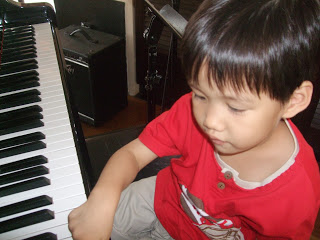 Playing Piano, Our Parenting World