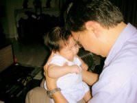 Lovey Dovey time with Daddy, Our Parenting World