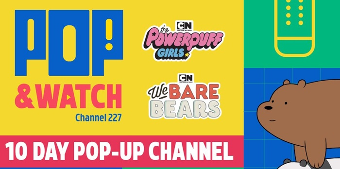 Cartoon Network – Pop Up and Watch 'The Powerpuff Girls' and